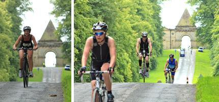 Castle howard olympic triathlon