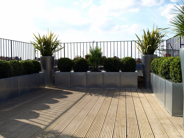 roof terrace front view